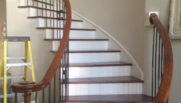 Installation of Hardwood Stairs