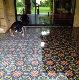 Enhancing Mexican Tile