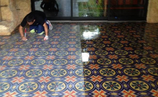 enhancing Mexican tile